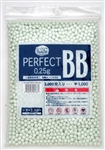 KWA / KSC Perfect (3,000) .25g Super Precision Airsoft BBs