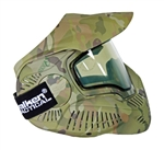 SLY ANNEX MI-7 Ventilated Full Face Airsoft Mask w/ Thermal Lens (V-Cam)