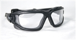 V-TAC Zulu Airsoft Anti-Fog Safety Glasses w/ Clear Lens
