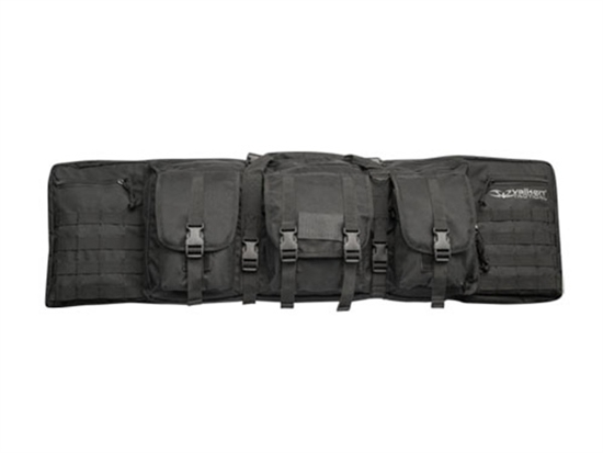 "Valken 42"" Deluxe MOLLE Double Padded Rifle Case (Black)"