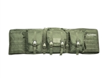 "Valken 42"" Deluxe MOLLE Double Padded Rifle Case (OD Green)"