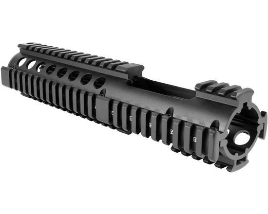 Aim Sports Handguard - Quad Rail For Carbine Length AR-15/M16 (MT057)