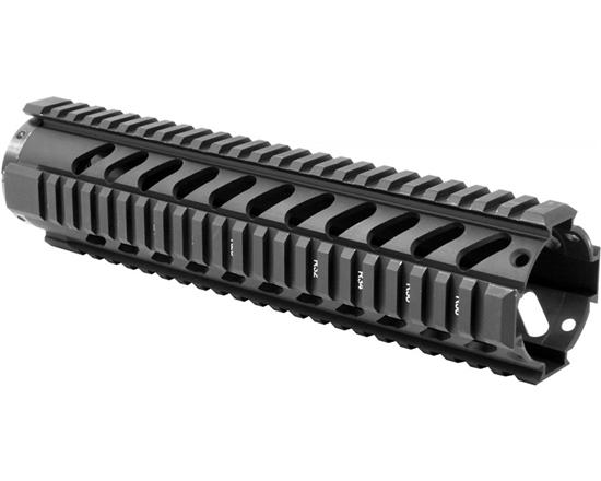 "Aim Sports Handguard - 10"" Free Float Quad Rail (MT061)"