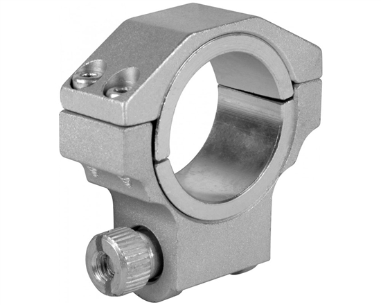 "Aim Sports Ring - Ruger - Low 30mm Silver w/ 1"" Insert  (QRS01)"