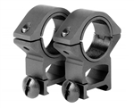 "Aim Sports Scope Ring - Weaver- Medium 30mm w/ 1"" Insert (QW30M)"