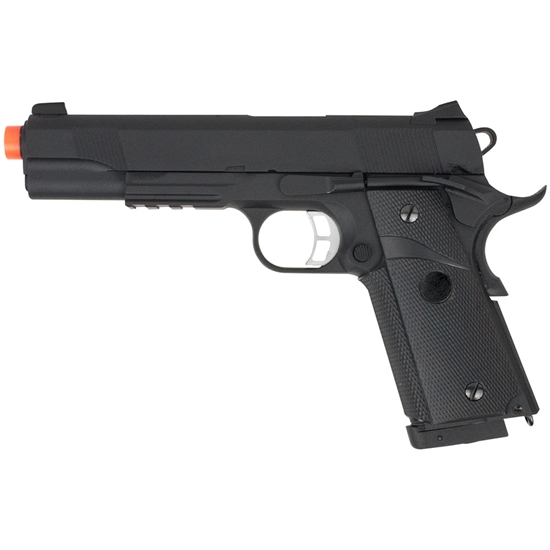 Valken Tactical TAC1911 Full Metal CO2 Blow Back Airsoft Pistol - Black (86452)