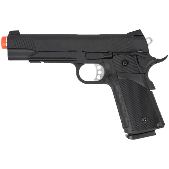 Valken Tactical K1911 Full Metal Gas Blow Back Airsoft Pistol - Black (86438)
