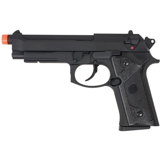 Valken Tactical KM9 Vertec Full Metal Gas Blow Back Airsoft Pistol - Black (V86360)