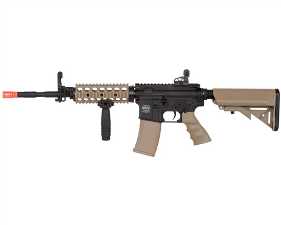 Valken Battle Machine TCC AEG Airsoft Rifle - Black/DST