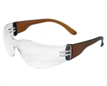 Starlite Gumball Safety Glasses - Brown
