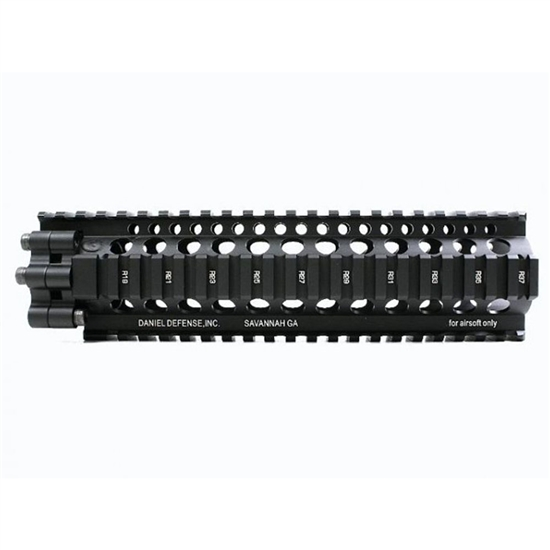 "Madbull Daniel Defense 9"" Tactical Airsoft Lite Rail - Black"
