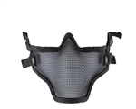 2G Striker Full Metal Face Mask - Black