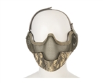2G Striker Full Metal Face Mask w/ Ear Guard - ACU