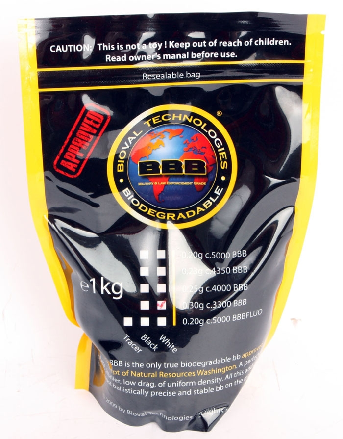 BIOVAL .30g High Polish Best Biodegradable Airsoft BBs ...