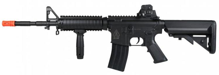 BRAVO AEG M4RIS 2 400 fps bravo m4 carbine ris polymer airsoft aeg gun Airsoft M16 at bakdesigns.co