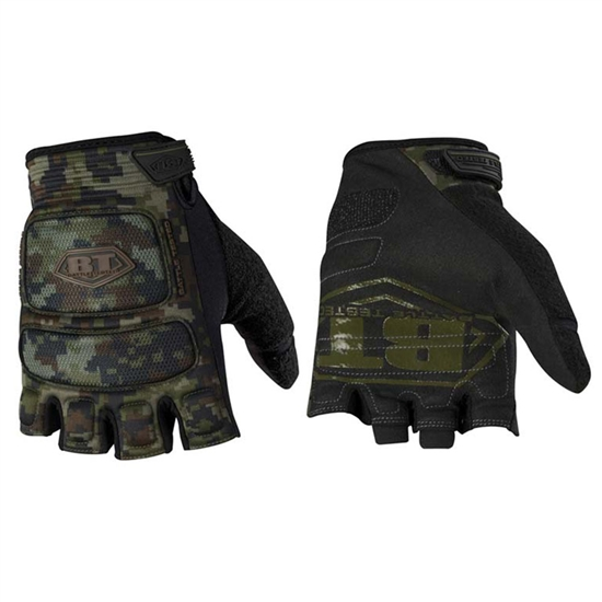 Empire Battle Tested ZE Combat Tactical Airsoft Gloves - Woodland Digi