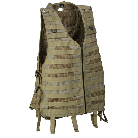 Empire Battle Tested Merc Tactical Airsoft Vest - Tan