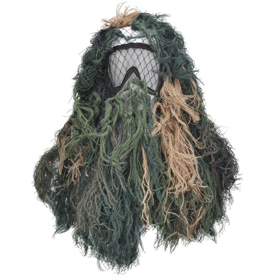 Bushrag Tactical Airsoft Sniper Suit - Woodland (65113)