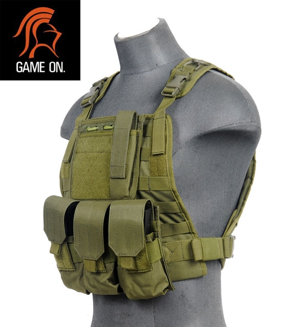 Ca 301g Lancer Tactical Airsoft Molle Plate Carrier W