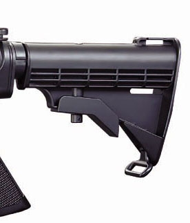 Wells AR-15 Electric AEG Airsoft Gun With Metal Gearing - 500rd Mag.