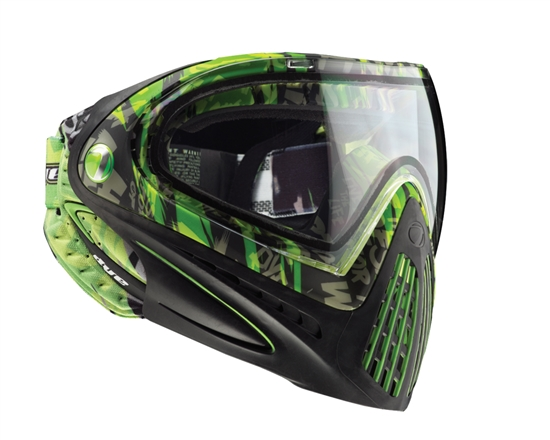 Dye Tactical i4 Thermal Full Face Mask Goggle System ( Lime Tiger)