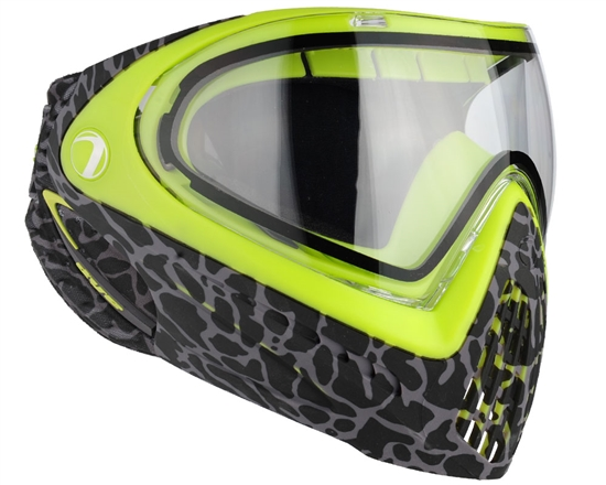 Dye Tactical i4 Thermal Full Face Mask Goggle System ( Skinned Lime )
