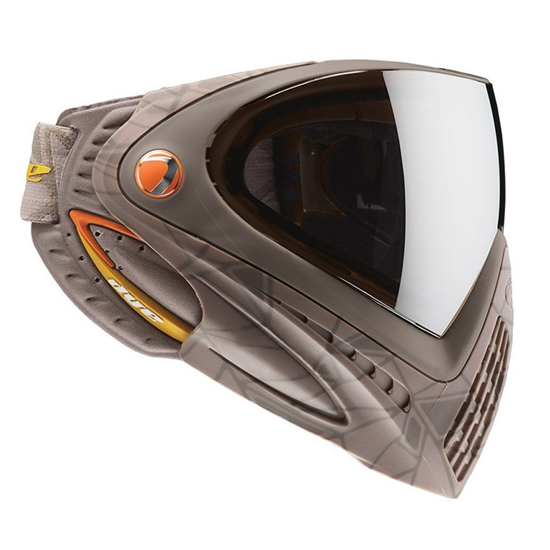 Dye Tactical i4 Thermal Full Face Mask Goggle System ( UL Dust Orange )