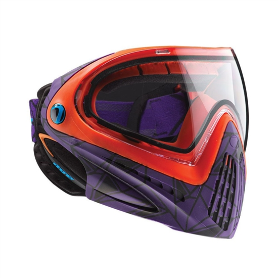 Dye Tactical i4 Thermal Full Face Mask Goggle System ( UL Purple )