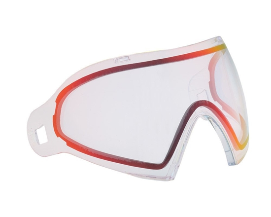 Dye Precision Dual Pane Anti-Fog Ballistic Rated Thermal Lens For i4/i5 Masks (Dyetanium Clear Sunrise)
