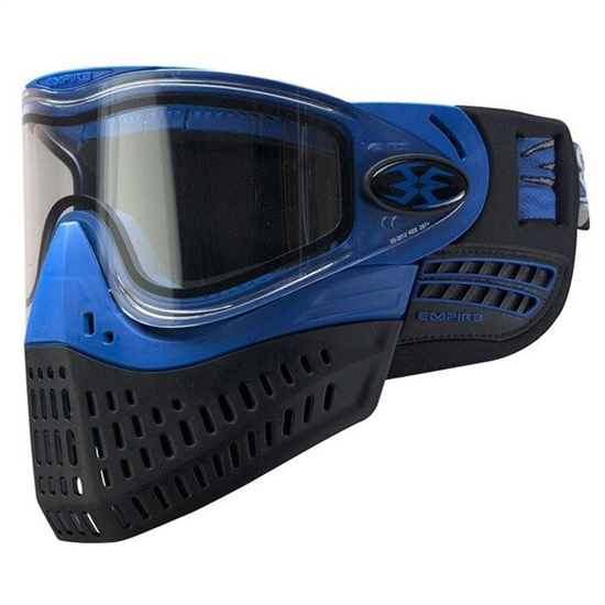 Empire Tactical E-Flex Full Face Airsoft Mask - Blue