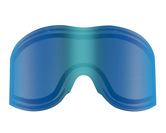 Empire Dual Pane Anti-Fog Ballistic Rated Thermal Lens For E-Vents Masks (Mirror Blue)