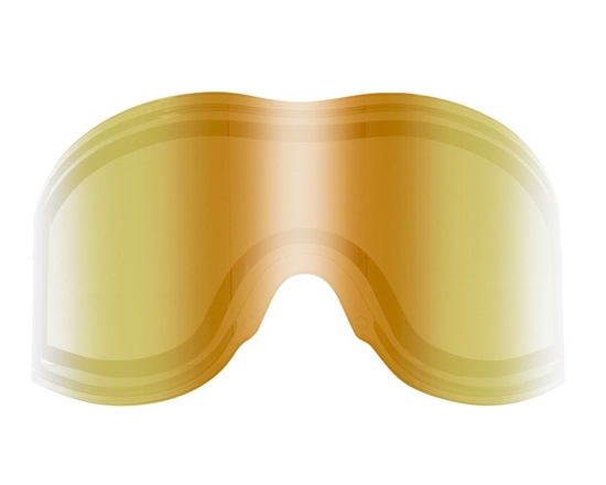 Empire Dual Pane Anti-Fog Ballistic Rated Thermal Lens For E-Vents Masks (Mirror Gold)