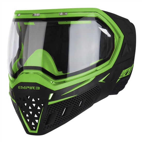 Empire Tactical EVS Full Face Airsoft Mask - Black/Lime