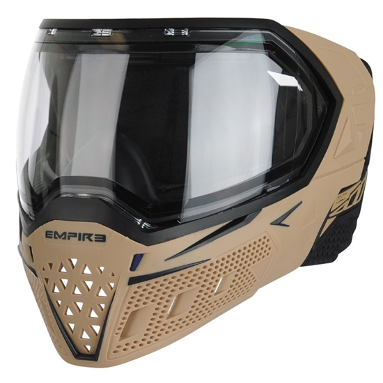 Empire Tactical EVS Full Face Airsoft Mask - Tan/Black