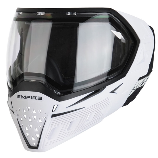 Empire Tactical EVS Full Face Airsoft Mask - White/Black