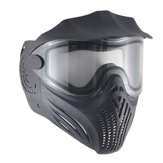 Empire Tactical Helix Full Face Airsoft Mask w/ Thermal Lens - Black