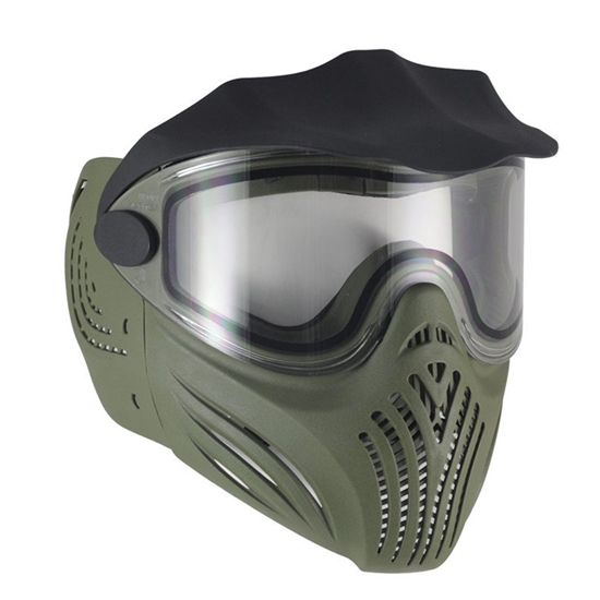 Empire Tactical Helix Full Face Airsoft Mask w/ Thermal Lens - Olive