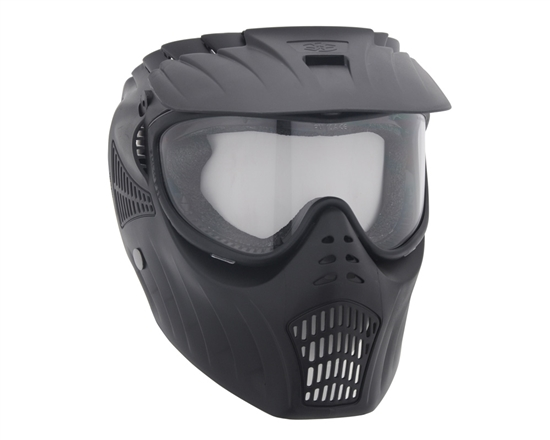 Empire Tactical X-Ray Full Face Airsoft Mask w/ Thermal Lens - Black