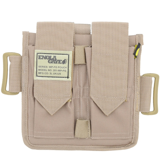 Enola Gaye Deuce Pouch For Smoke & Sound Grenades - Tan