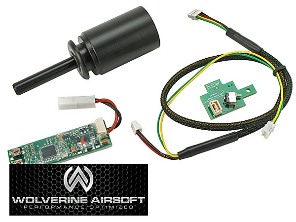 EVN CA 003 SCARH 2 wolverine airsoft hpa stage 3 vfc scar h evolution kit w nozzle vfc wiring harness with fuse at edmiracle.co