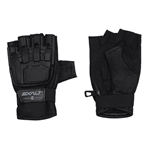Exalt Hard Shell Tactical Airsoft Gloves - Black