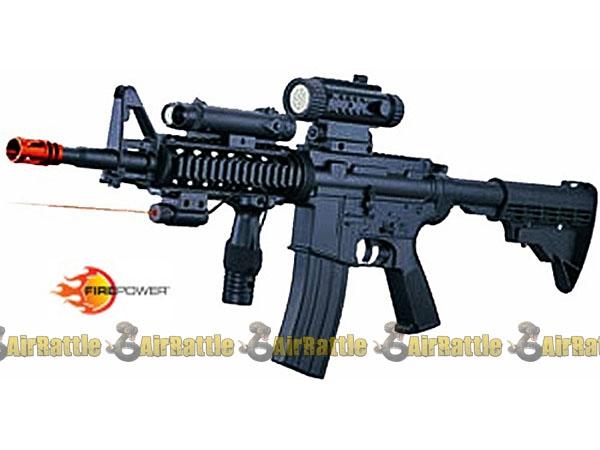airsoft gun rifle aeg guns electric firepower f4d airrattle