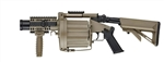 ICS-191 GLM Airsoft Gas Grenade Launcher - Desert Tan