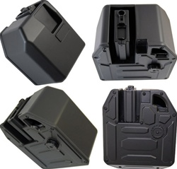 5000 Round ELECTRIC Auto Wind Hi-Cap Metal Box Magazine For M16, M4, AR15 AEG Airsoft Rifles Universal Gun Fit