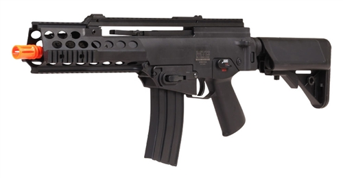 ECHO1 Modular Tactical Carbine 1 AEG Airsoft Gun Metal RIS Tactical Rails Extra Mag Included