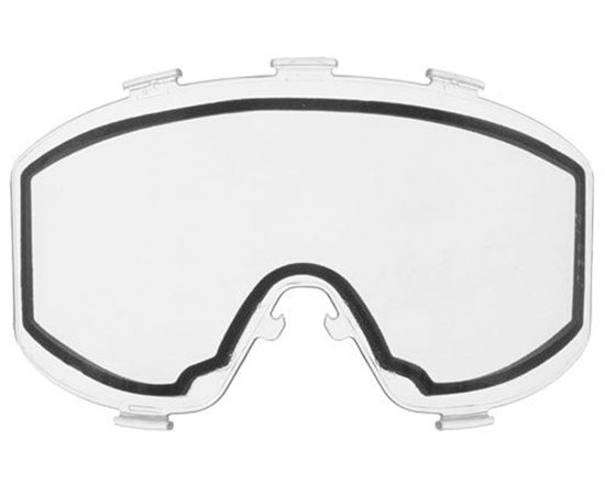 JT Dual Pane Anti-Fog Ballistic Rated Thermal Lens For Elite Style Masks (Clear)