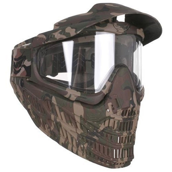JT Tactical Flex 8 Full Face Airsoft Mask - Camo