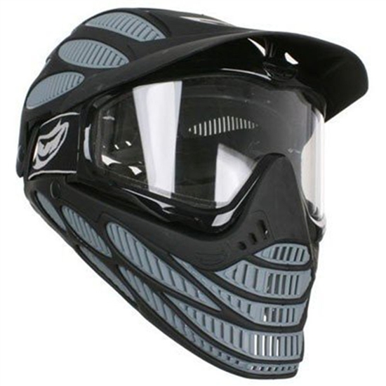 JT Tactical Flex 8 Full Head Complete Coverage Airsoft Mask - Grey