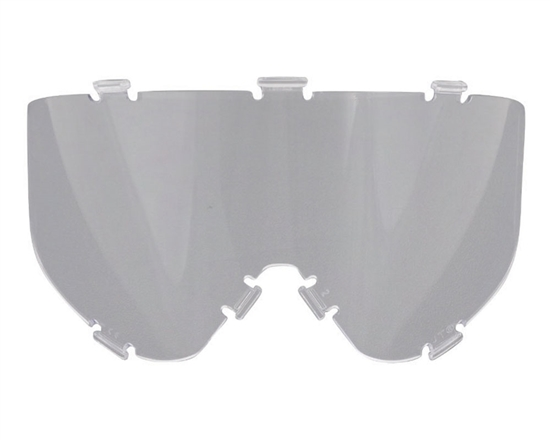 JT Dual Pane Anti-Fog Ballistic Rated Thermal Lens For Spectra Style Masks (Clear)