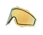 JT Dual Pane Anti-Fog Ballistic Rated Thermal Lens For Spectra Style Masks (Prizm 2.0 Gold)